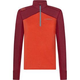 La Sportiva Swift Maglietta a maniche lunghe Donna, rosso/rosa